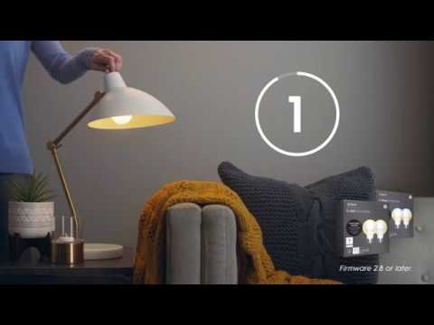 UPDATED: How to: Reset C by GE Light Bulbs - YouTube