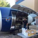 An Incredible Jet Engine Barbeque Grill Built by Delta Airlines Techs Using Scrapped Pratt & Whitney Parts