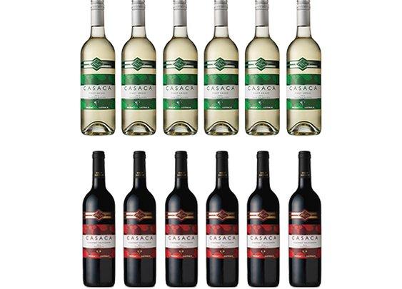 Buy Casaca Pinot Grigio and Casaca Cabernet Sauvignon - Roo's Wines