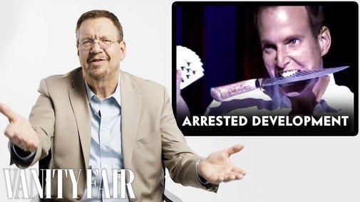 Penn Jillette (Penn & Teller) Reviews Magic Tricks in The Prestige, Arrested Development and More - YouTube