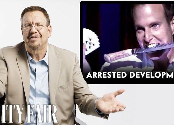 Penn Jillette (Penn & Teller) Reviews Magic Tricks in The Prestige, Arrested Development and More - YouTube