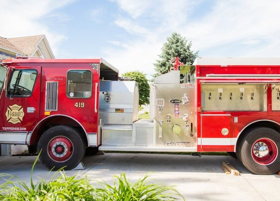 Man Buys Firetruck Off Facebook Marketplace – Transforms It into Town's Coolest Bar - AskMen