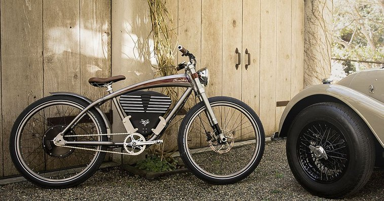 Vintage Electric Boardtrack Style E-Bike | Cycle Volta