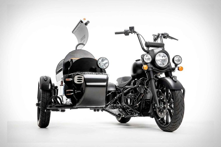 Indian x Traeger Wood-Fired Grill Motorcycle   Uncrate