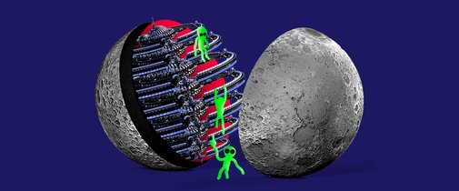 The People Who Believe That the Moon Is an Alien Spaceship | MEL Magazine