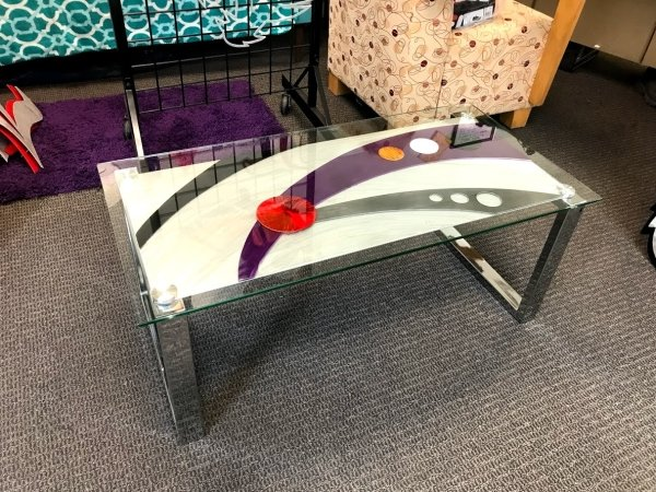 Elegance coffee table in contemporary colors