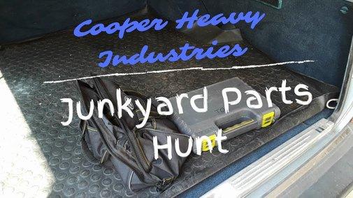 Junkyard Parts Hunt - YouTube