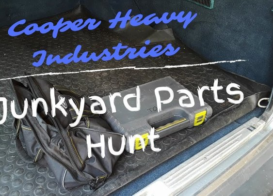 Junkyard Parts Hunt - YouTube