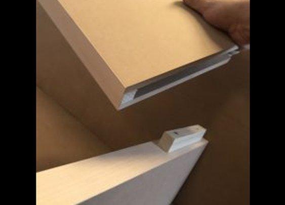 corner floating shelves | Custom Floating Shelves