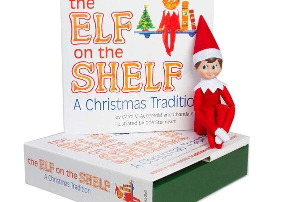 Elf on the shelf | Custom Floating Shelves