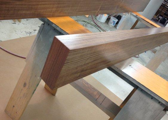 walnut floating shelves | Custom Floating Shelves