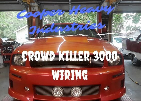Crowd Killer 3000 Wiring Repair - YouTube