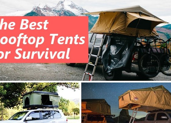The 3 Best Rooftop Tents for Survival - YouTube