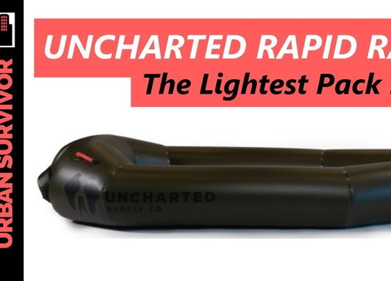 The Uncharted Rapid Raft is the World's Lightest Pack Raft! - YouTube