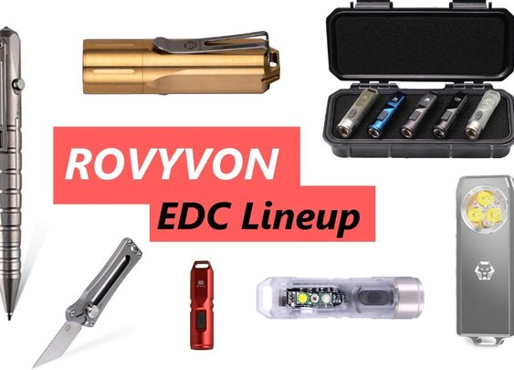 A Look at the Full EDC Lineup from Rovyvon - YouTube