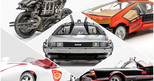 Black Panther, Batman, more: see cars from your favorite sci-fi movies, TV shows | EW.com