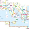 The Roman Empire's Roads In Transit Map Form