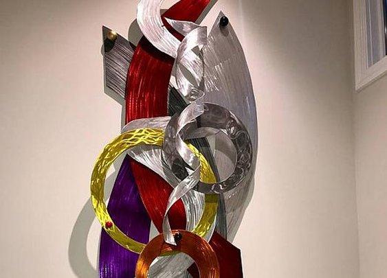 2-Fine Contemporary wall sculpture