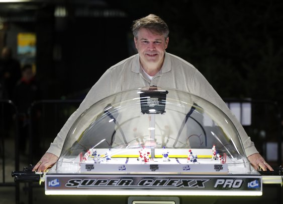 He lived, ate and slept table hockey in his basement. Now his passion comes to RiverWorks – The Buffalo News