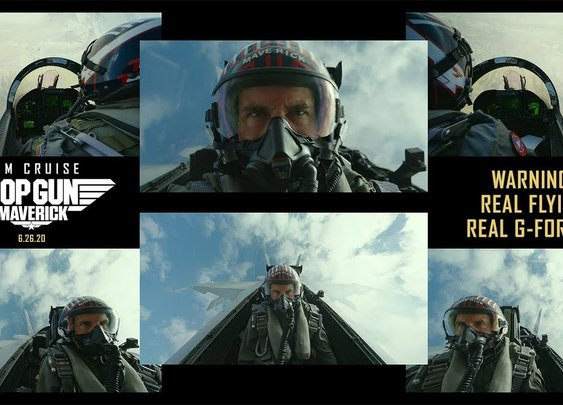 Top Gun: Maverick - Real Flying. Real G-Forces. Pure Adrenaline. - YouTube