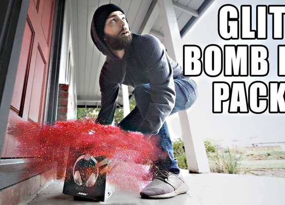 Porch Pirate vs. Glitter Bomb Trap 2.0