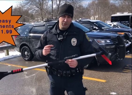 """Snow Enforcer"" Mansfield, MA Police - YouTube"