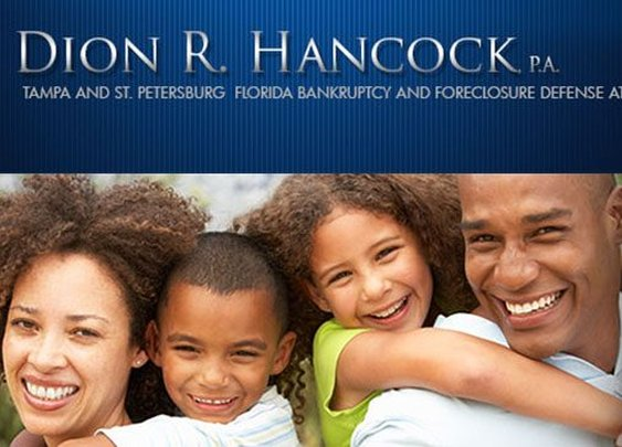 Tampa and St. Petersburg Bankruptcy Lawyer - Dion R. Hancock, P.A.
