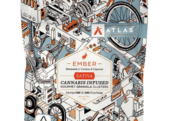 Atlas Ember Granola Clusters | Gourmet Weed Edibles | PotValet