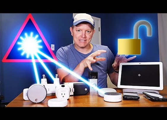 Breaking Into a Smart Home With A Laser - Smarter Every Day 229 - YouTube