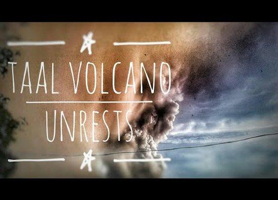 Taal Volcano Sumabog : Naglabas ng Toxic Gas at Nagpaulan ng Putik | January 12, 2020 - YouTube