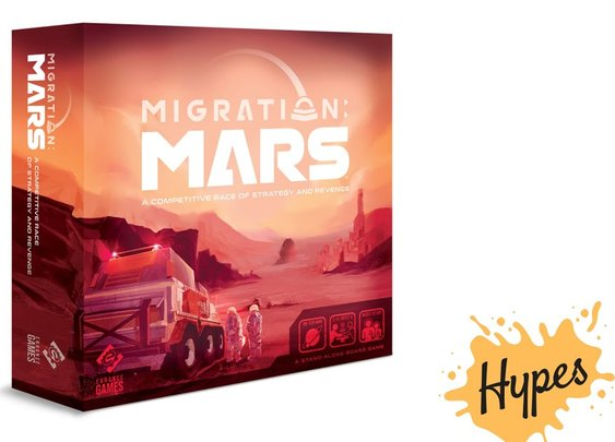 Migration Mars is the best Board Game of 2020 - YouTube