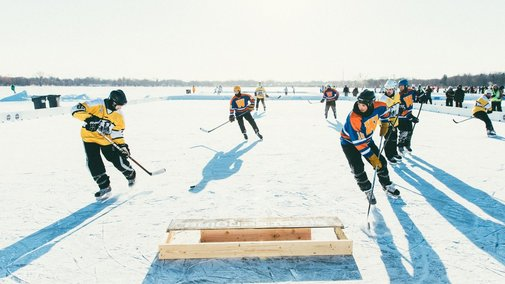 The Soul of Pond Hockey Is in Minnesota | Outside Online