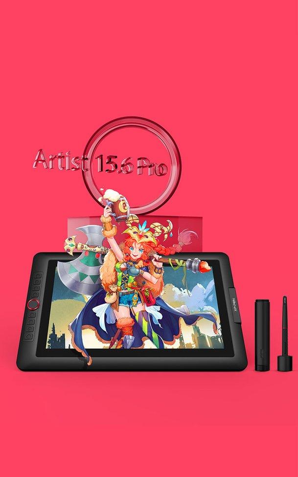Artist 15.6 Pro Tablette Graphique avec écran dessin professionnel|XP-PEN