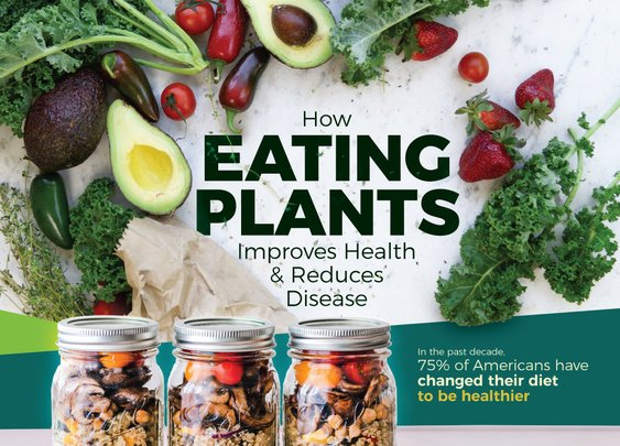 Eat Plants Feel Whole Infographic | AdventHealth Press | AdventHealth