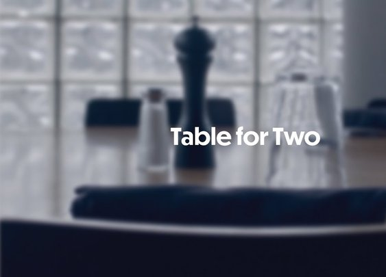Table for Two: A Documentary