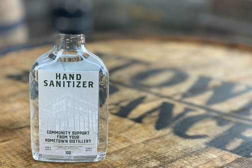Whiskey Producers Are Making Hand Sanitizer. Here's How They Organized.
