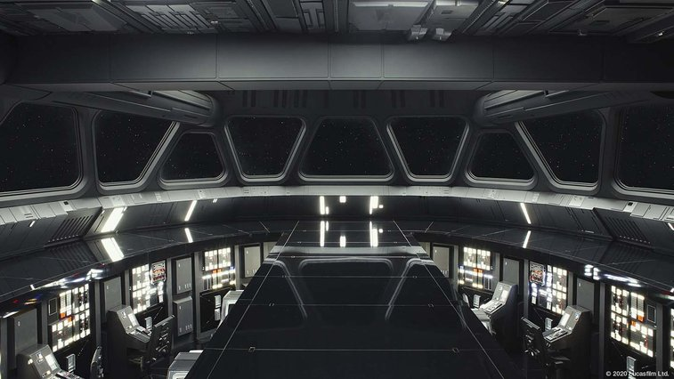 Official Star Wars background images released for use with video calls