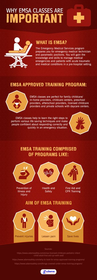 What Topics Would Be Covered During EMSA Training