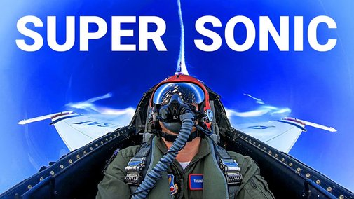 GOING SUPERSONIC with U.S. Air Force Thunderbirds! Pulling 7 G's in an F-16 -Smarter Every Day 235 - YouTube
