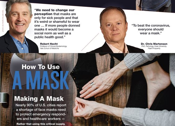 Face Masks: Everything You Need To Know To Flatten The Curve – Survival At Home