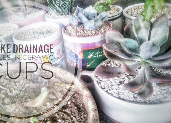 How To: Make Holes in Ceramic Cups (Without Drilling)