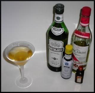 The Diabolo cocktail - The Cigar Smoking Man