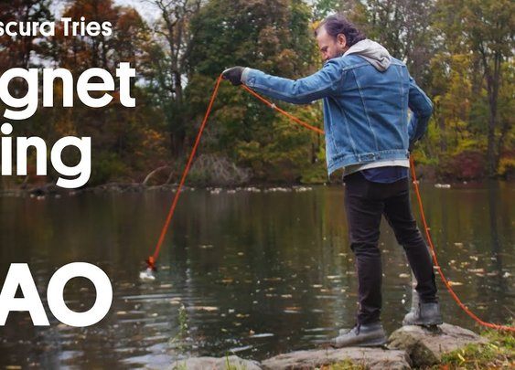 YouTubeMagnet Fishing: What's at the Bottom of Van Cortlandt Lake?
