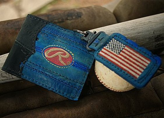 All American Custom Baseball Wallet/Key Fob Combo (An MVP Exclusive) - Vvego.com