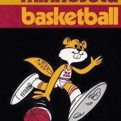 1974 University of Minnesota Basketball Retro Sports Art College Metal Sign - Row One Brand