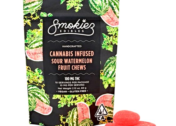 Smokiez Sour Watermelon Edible Gummy | Edible Gummy | PotValet