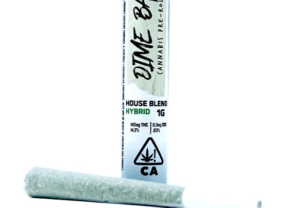 Lemonade Pre-Rolls joints - Hybrid - by Dime Bag | Weed Joints | Pot Valet