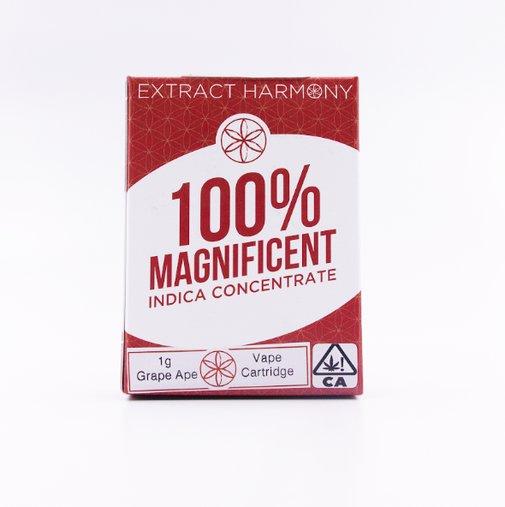 Grape Ape Cannabis Oil Cartridge by Extract Harmony | Indica | PotValet