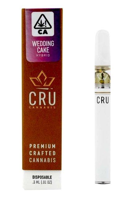 All-in-one Marijuana Pen Wedding Cake - by CRU | Hybrid | Pot Valet