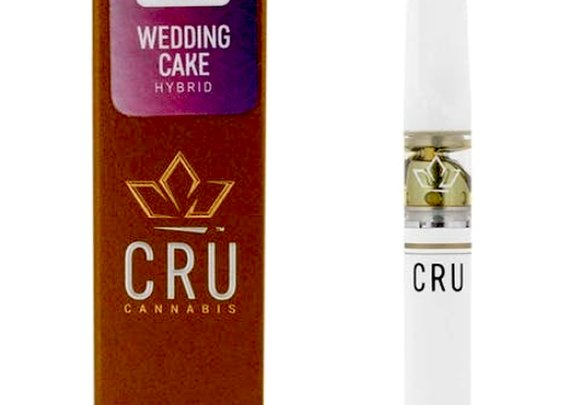 All-in-one Marijuana Pen Wedding Cake - by CRU | Hybrid | Pot Valet